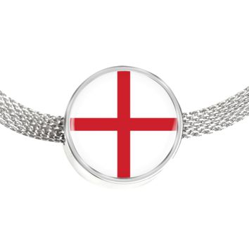 English Pride - Luxury Charm Bracelet