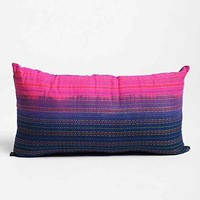 Magical Thinking Fade-Out Pillow- Blue One