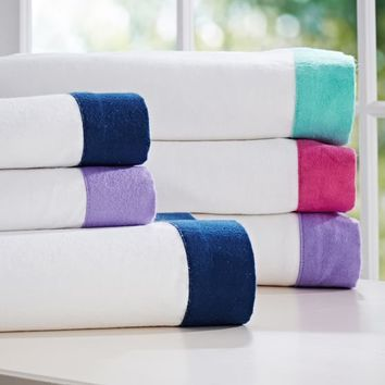 Suite Ribbon Flannel Sheet Set