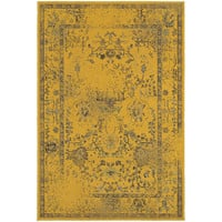 Oriental Weavers Revival 3251J Gold/Grey Oriental Area Rug