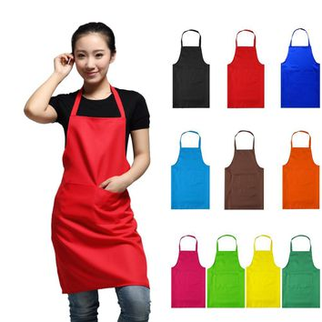 WITUSE AE NEW HOT Fashion Lady Women Apron Home House Kitchen Chef Butcher Restaurant Cooking Baking Dress
