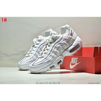 Nike Air Max 95 Fashionable Women Leisure Air Cushion Running Sport Shoes Sneakers 1#