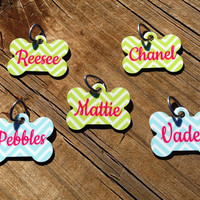 Personalized Pet Tag, Pet ID Tag, Dog Tag, Custom Pet Name Tag, Choose Your Color/Design