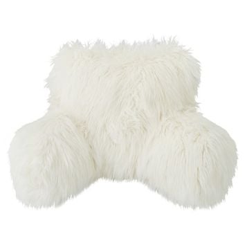 Fur-rific Faux Fur Lounge Around Pillow Cover