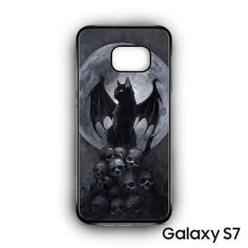 Horror Con the BatCat for Samsung Galaxy S7 phonecases