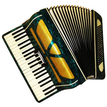 Russian Diamond, 120 Bass, 3 Registers, Piano Accordion Instrument, 477