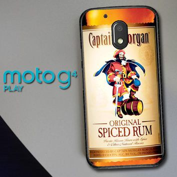 Captain Morgan Original Spiced Rum L2150 Motorola Moto G4 Play Case