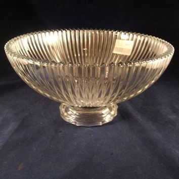 Mikasa Diamond Fire Footed Bowl