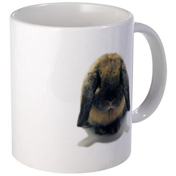 HOLLAND LOP RABBIT TORT MUG