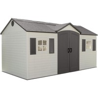 Lifetime Side-entry Shed   Overstock.com Shopping - The Best Deals on Tool Sheds
