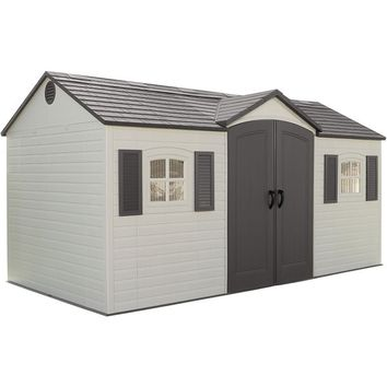 Lifetime Side-entry Shed | Overstock.com Shopping - The Best Deals on Tool Sheds