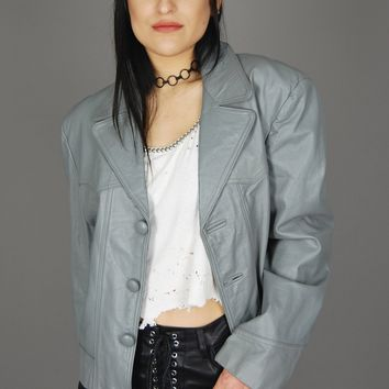 Espana Gray Worn In Leather Jacket