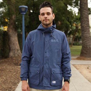 BAIT Mountain Parka Windbreaker Jackets (navy)