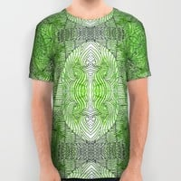 Zentangle Madness All Over Print Shirt by Idle Amusement