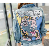 Haunted Melody Pop Art Jacket