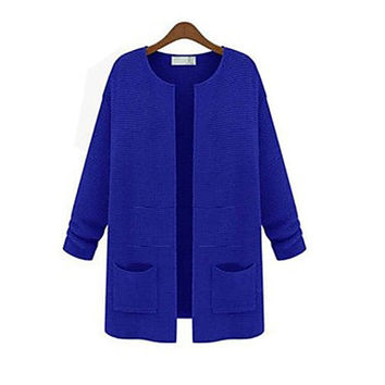 Women's Blue Pink Black Yellow Beige Cardigan