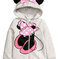 Hooded Jacket with Appliqués - from H&M
