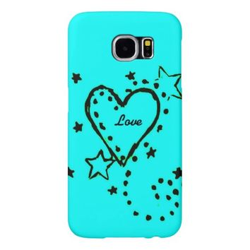 Heart Design Samsung Galaxy S6 Case Samsung Galaxy S6 Cases