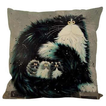 Funny Cat Pillow Cases