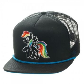 My Little Pony Brony Black Foam Trucker Hat - My Little Pony - | TV Store Online