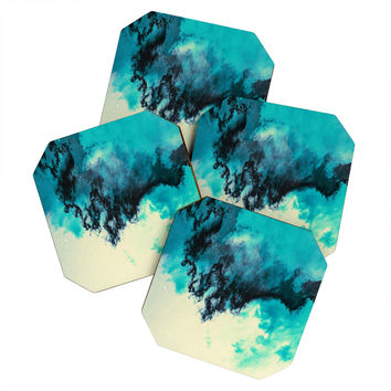 Caleb Troy Painted Clouds V Coaster Set