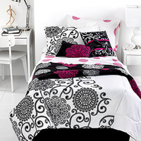 Silver Medallion 4 Piece Comforter Sets - Teen Bedding - Bed & Bath - Macy's