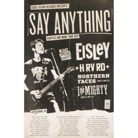 Say Anything - Concert Promo Poster