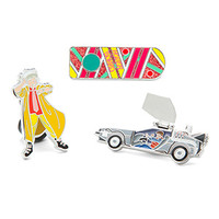 Back to the Future Collectible Pin Set