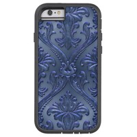 Abstract Vintage Aluminum Pattern Tough Xtreme iPhone 6 Case