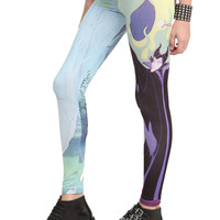 Disney Sleeping Beauty Aurora And Maleficent Leggings | Hot Topic