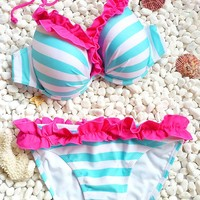 Sexy Dots and Stripes Bikini Sets, Swimsuit