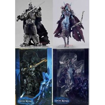 World of Warcraft Arthas and Sylvanas 2 Piece Figure Set