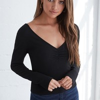 PS Basics by Pacsun Double V Long Sleeve T-Shirt at PacSun.com