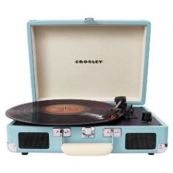 Crosley Cruiser Portable Turntable - Turquoise