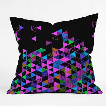 Fimbis Radio Gaga Throw Pillow