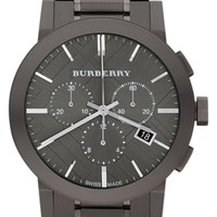 Burberry Large Chronograph Bracelet Watch, 42mm