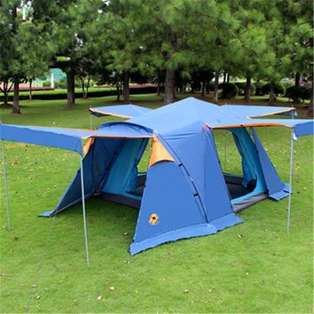 Samcamel 3-4 Person Large Family Tent Large Camping Tent Sun Shelter Gazebo Beach Tent Awning For Advertising/exhibition