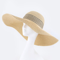 Wide Brim Floppy Hat | The Handmade Hustle