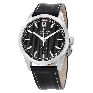 Hamilton Broadway Day Date Automatic Black Dial Mens Watch H43515735