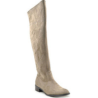 Grazie Penny Stretch Over-the-Knee Boots - Taupe