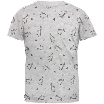 Retro Penguin Men's Soft T-Shirt