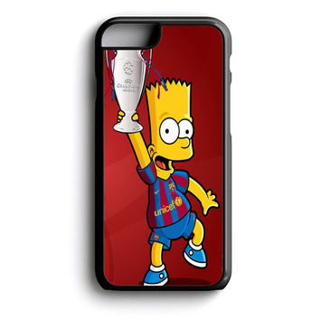 Barcelona Bart iPhone 4s iPhone 5 iPhone 5c iPhone 5s iPhone 6 iPhone 6s iPhone 6 Plus Case | iPod Touch 4 iPod Touch 5 Case