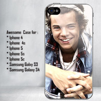 Harry Styles Bandana One Direction for iPhone 4/4S/5/5S/5C and Samsung Galaxy S3/S4