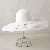 Rhodes Sun Hat by Anthropologie White All Scarves