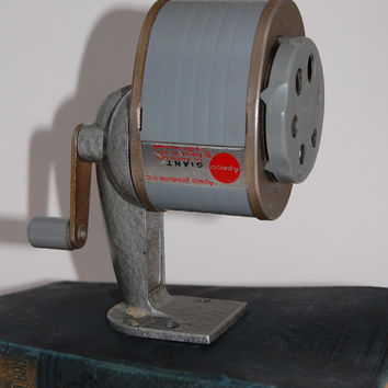 Vintage Apsco Giant Pencil Sharpener Studio Supplies Home Decor