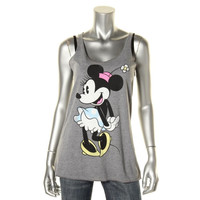 Disney Womens Heathered Racerback Tank Top