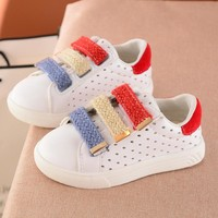New 1-6 Years Children Shoes Boys and Girls Casual Sports Shoes Kids Sneakers Candy Colors Fashion Baby Toddler Shoes