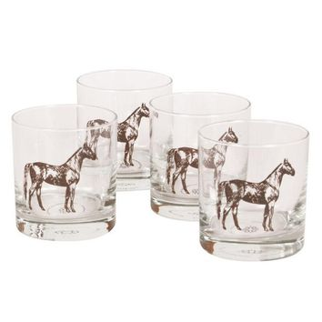 Man o' War Bourbon Glasses (Set of 4)