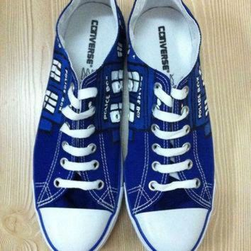 VLXJZ Doctor Who Custom Hand Painted Converse Shoes