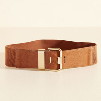 Signature Accessory Belt in Sienna | Mod Retro Vintage Belts | ModCloth.com